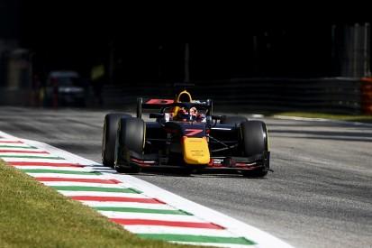 Monza F2: Tsunoda tops practice from Lundgaard at Monza