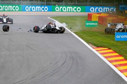 "F1: Giovinazzi losing a wheel in Spa crash is ""a concern"""