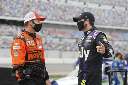 """Johnson """"did all we could"""" to make NASCAR playoffs"""