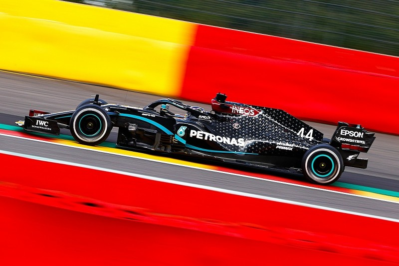 F1 Belgian GP: Hamilton takes controlled victory from Bottas
