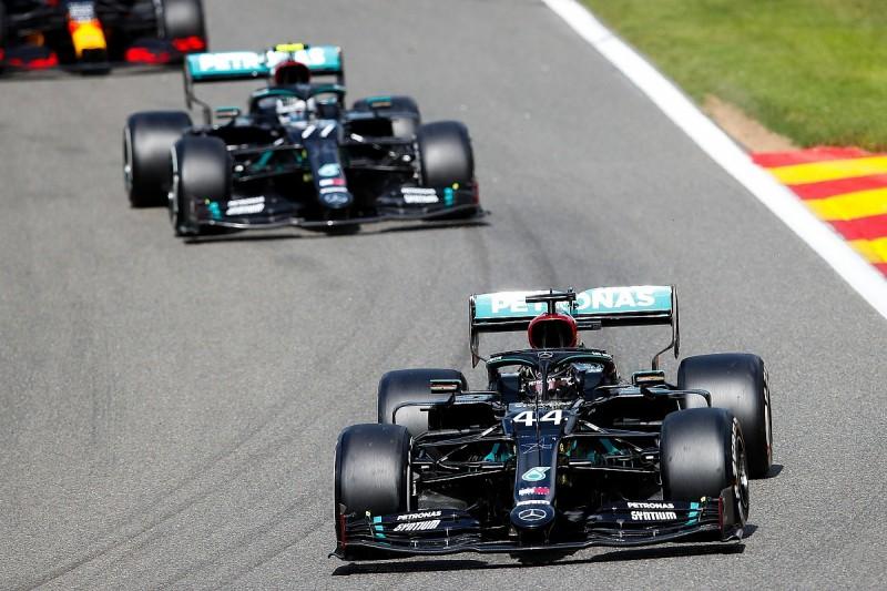 "Mercedes explains Bottas ""miscommunication"" over Spa F1 overtake modes"