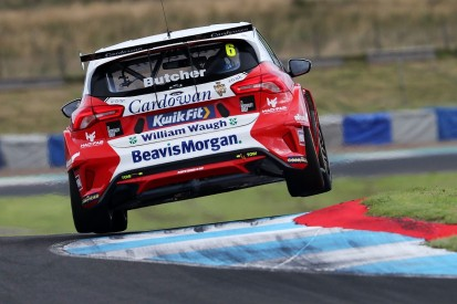 BTCC Knockhill R3: Butcher takes reversed grid in after red flag delay