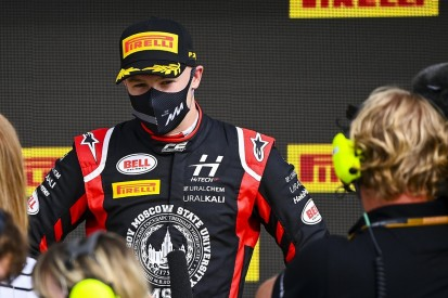Mazepin gets suspended F2 grid drop for Spa parc ferme incident
