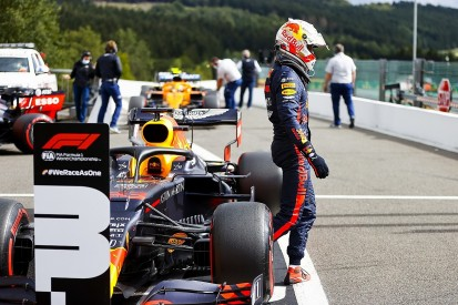 Verstappen: Running out of energy didn't cost front row start for F1 Belgian GP