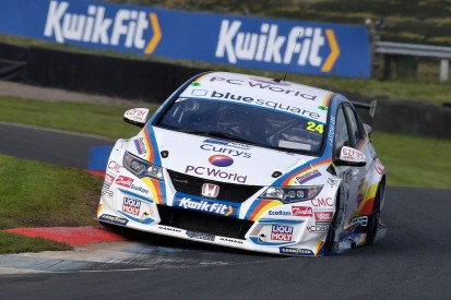 BTCC Knockhill: Hill's Honda and Sutton's Infiniti fastest in practice