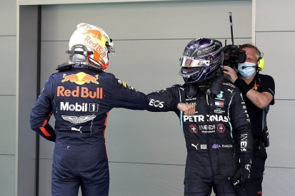 """Hamilton """"absolutely"""" keeping an eye on F1 """"title runner"""" Red Bull"""