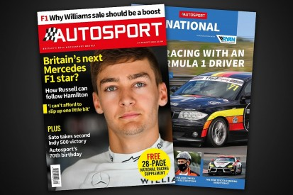 Magazine: Is Russell Mercedes' next Formula 1 star?