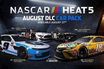 NASCAR Heat 5's second Content Pack available from 27 August
