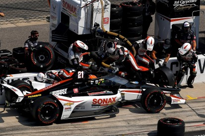 """VeeKay explains """"biggest nightmare"""" that earned pit sanction at Indy 500"""