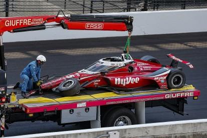 Spencer Pigot has full memory of horror Indy 500 crash