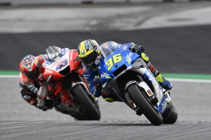 """Styria MotoGP podium riders """"gutted"""" for Mir after red flag cost victory"""