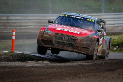 Mattias Ekstrom remains with KYB Team JC for World RX Finland