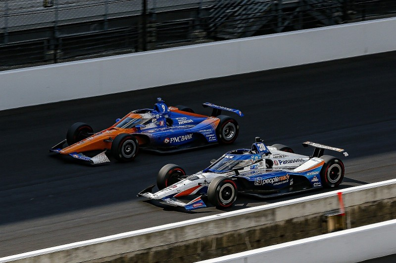 """Dixon """"can't see"""" how Sato would have finished Indy 500 under green"""