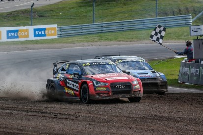 WRX Sweden: Ekstrom turns the tables on Kristoffersson for Holjes victory