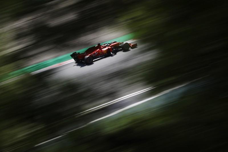 Vettel denies frustration over Ferrari F1 struggles in 2020