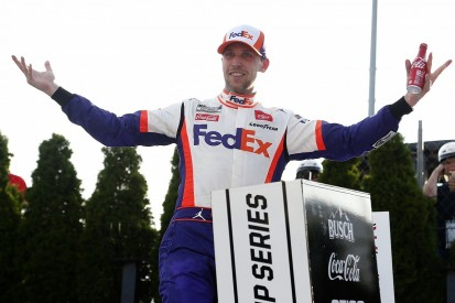 NASCAR Dover: Hamlin leads Joe Gibbs Racing 1-2-3