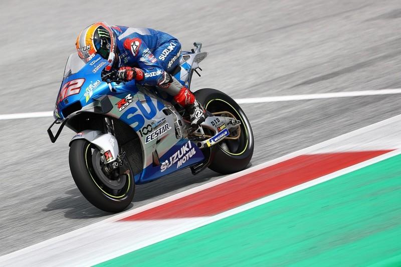 "Rins ""felt like winning"" Austria MotoGP race was possible before crash"