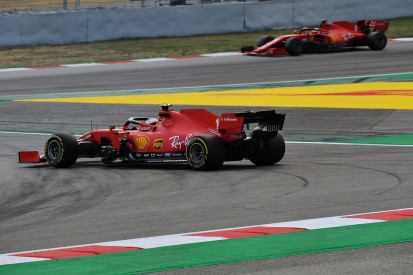 Leclerc stopped from rejoining F1 Spanish GP by Ferrari engine issue