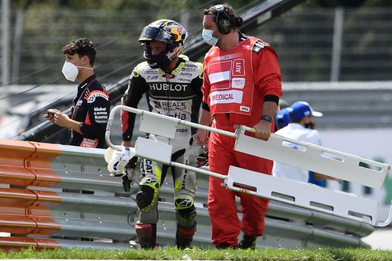 Zarco set for surgery of wrist after Austria MotoGP crash