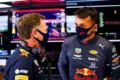 """Red Bull has """"a lot of belief"""" in Albon despite current F1 struggles"""