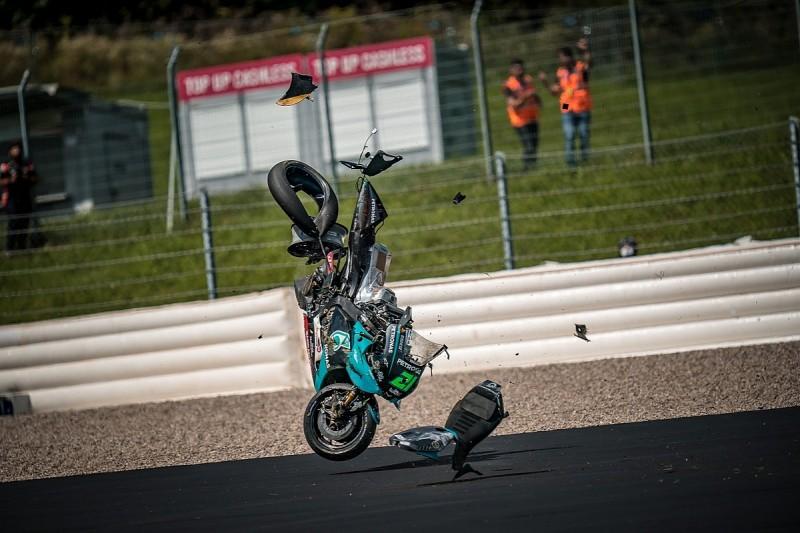 "Morbidelli: ""Someone needs to pay"" for violent Austria MotoGP shunt"