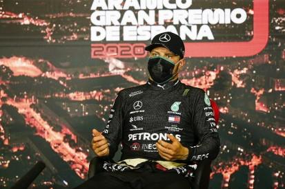 Bottas blames black overalls for 3kg loss in F1 Spanish GP