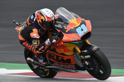 Austria Moto2: Martin wins after race red-flagged for massive crash