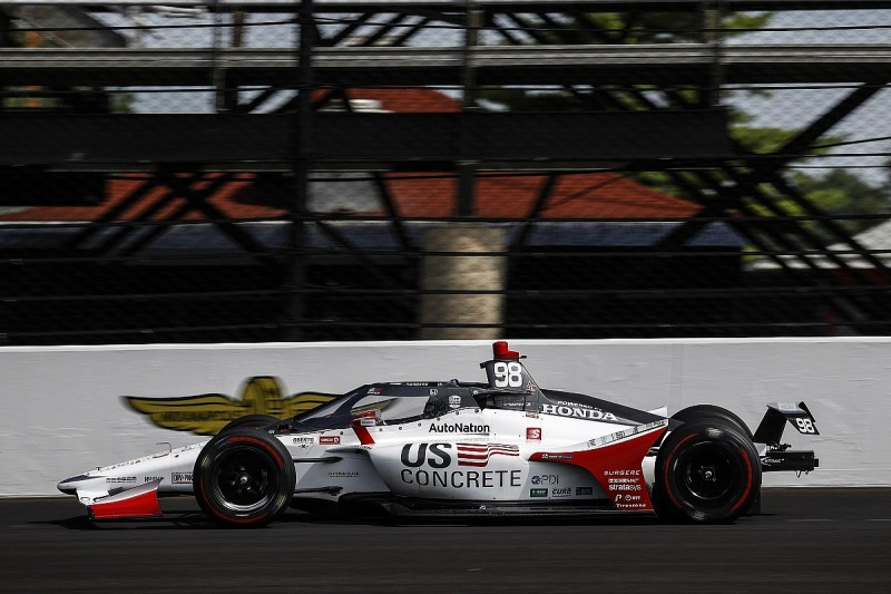 Andretti leads Indy 500 qualifying opener