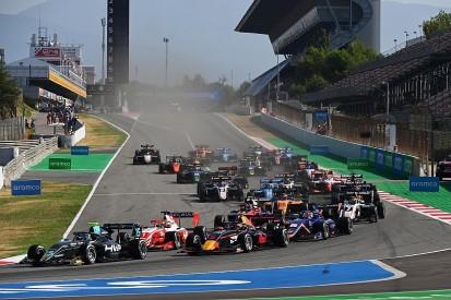 Barcelona F3: Hughes claims first FIA F3 win of the season
