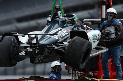 Dixon fastest on day two of Indy 500 practice as Alonso crashes