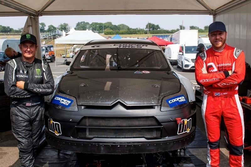 Sir Chris Hoy, TT legend John McGuinness set for one-off British Rallycross entries