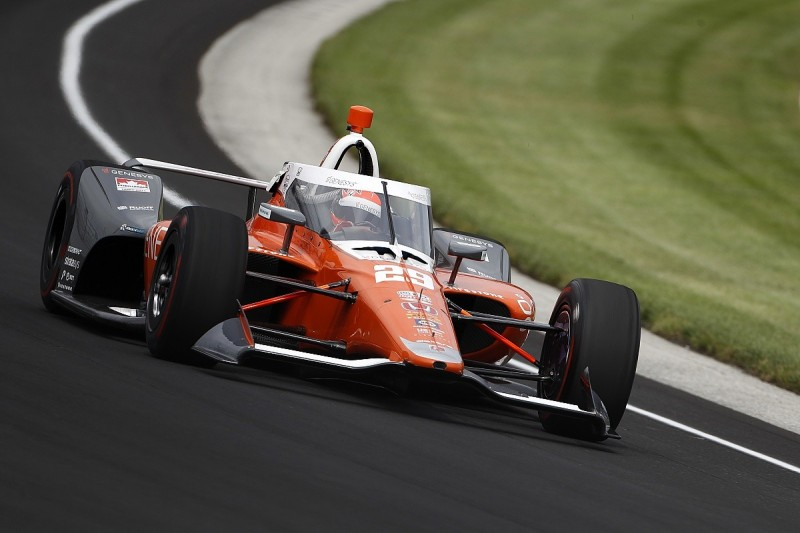 Hinchcliffe tops opening day of Indy 500 practice, Alonso fifth on return