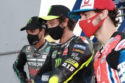 """Morbidelli: Maiden MotoGP podium because of """"big brother"""" Rossi"""