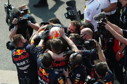 """Verstappen """"didn't see victory coming"""" in 70th Anniversary GP"""