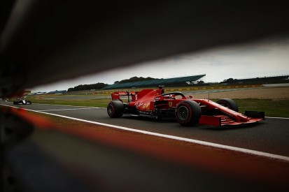 """Vettel """"going up against a wall"""" to find Ferrari F1 pace at Silverstone"""