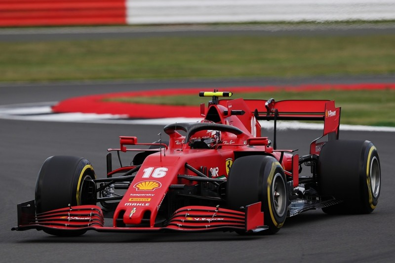 """Leclerc: Ferrari struggling with """"weird"""" tyre situation at F1 70th Anniversary GP"""