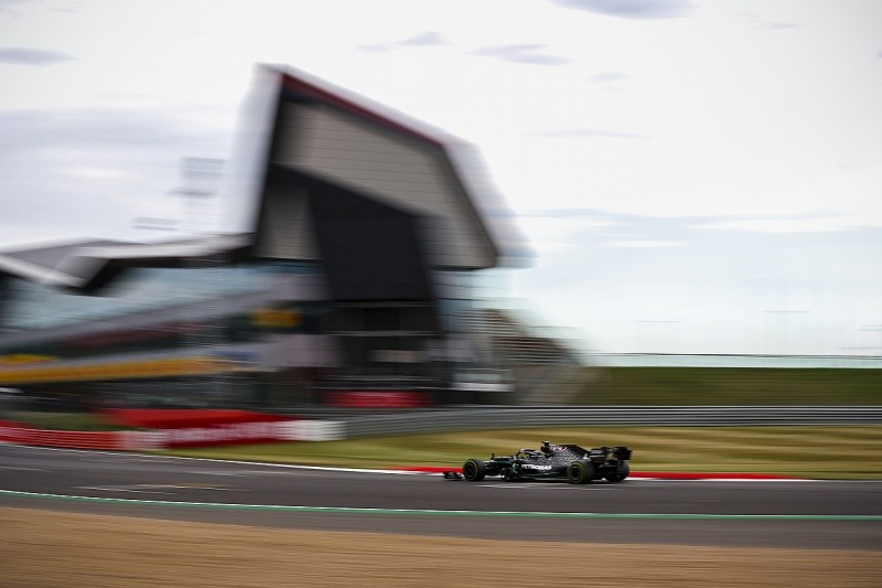 F1 70th Anniversary GP: Hamilton beats Bottas in FP2 at Silverstone