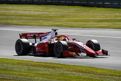 Schumacher tops F2 practice at Silverstone