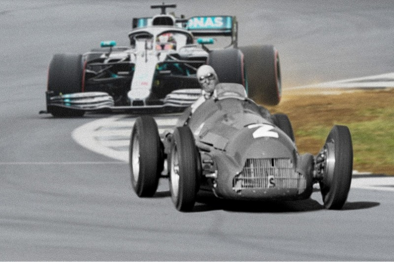F1's 70th Anniversary: How have F1 cars changed since 1950?