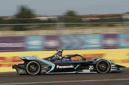 "Evans ""confused"" by Jaguar Formula E pace drop in Berlin"