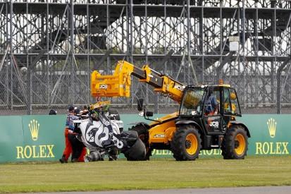 Kvyat's F1 British GP crash caused by overheating wheel rim