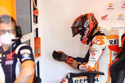 Honda MotoGP rider Marquez broke plate in his arm opening window