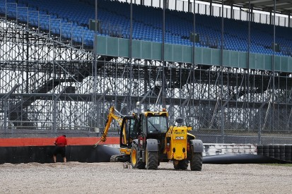 Silverstone adds extra barriers after Kvyat's F1 British GP crash