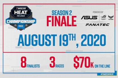 ASUS and Fanatec power the eNASCAR Heat Pro League championship finale