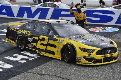 New Hampshire NASCAR: Keselowski dominates final stages for victory