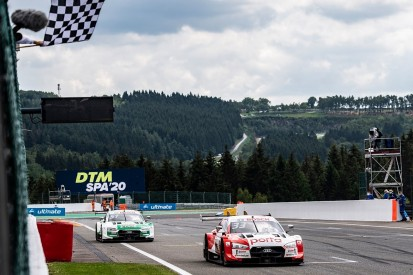"""Muller outfoxed by """"smarter"""" Rast for DTM victory in second Spa race"""