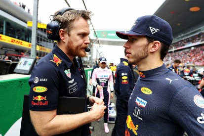 Gasly asked for more experienced engineer at Red Bull in 2019