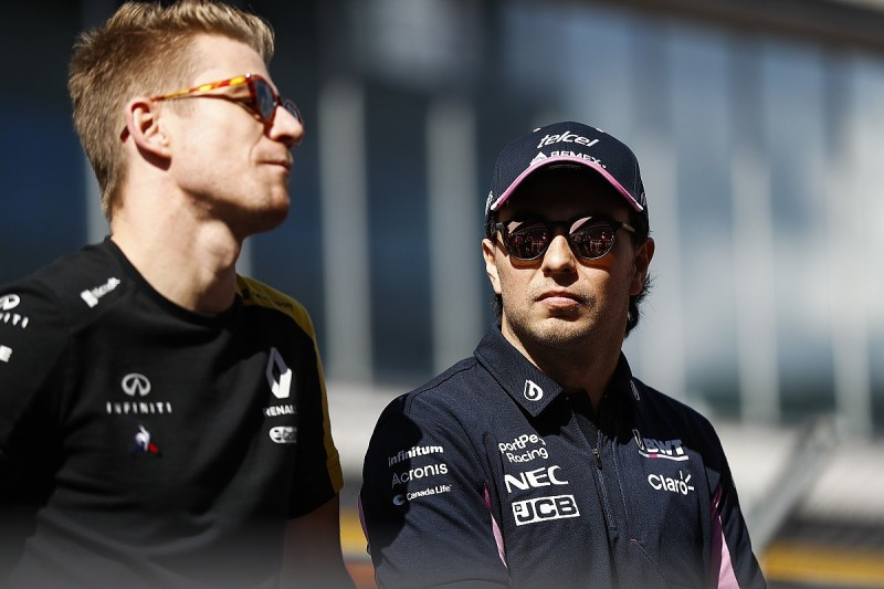 Racing Point awaiting Perez quarantine clarification for second Silverstone race