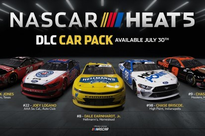New content heading to NASCAR Heat 5 on 30th July