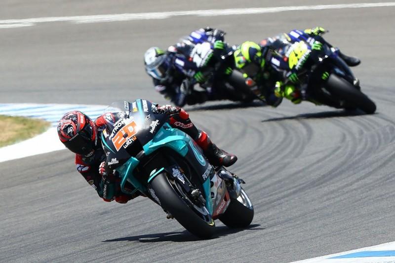 Andalusia MotoGP: Quartararo dominates race of survival at Jerez